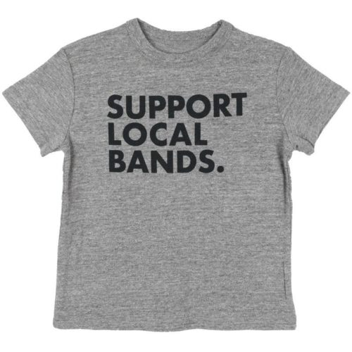 CHASER KIDS SUPPORT LOCAL BANDS TEE- KIDS CURATED APPAREL