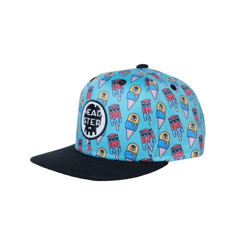 HEADSTER KIDS MONSTER FREEZE BLUE CAP - Kids Curated Apparel