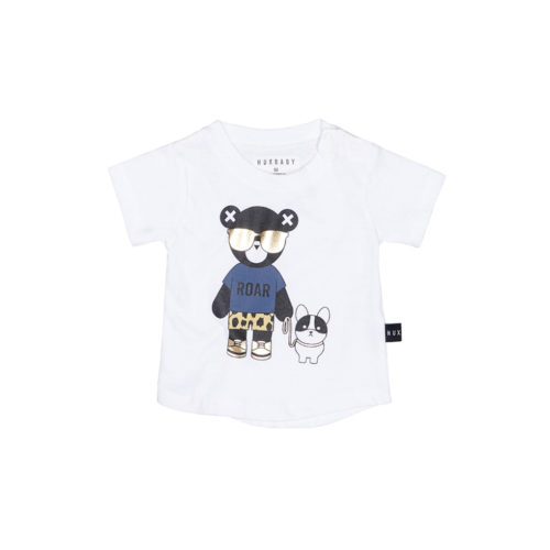 HUXBABY HUX BULLDOG TEE - KIDS CURATED APPAREL