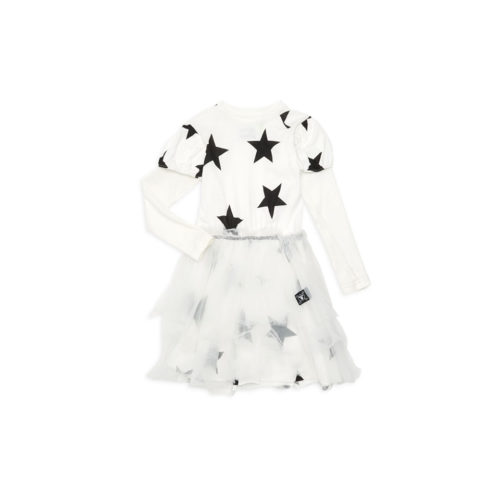 NUNUNU FAIRYTALE STAR TULLE DRESS - KIDS CURATED APPAREL