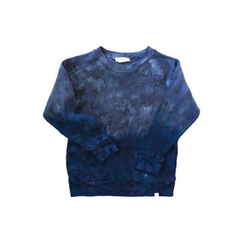 LITTLE MOON SOCIETY COBALT JOSHIE PULLOVER - KIDS CURATED APPAREL