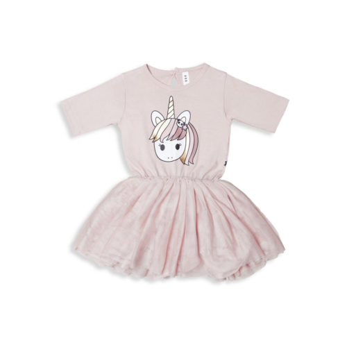 HUXBABY UNICORN BALLET DRESS - KIDS CURATED APPAREL