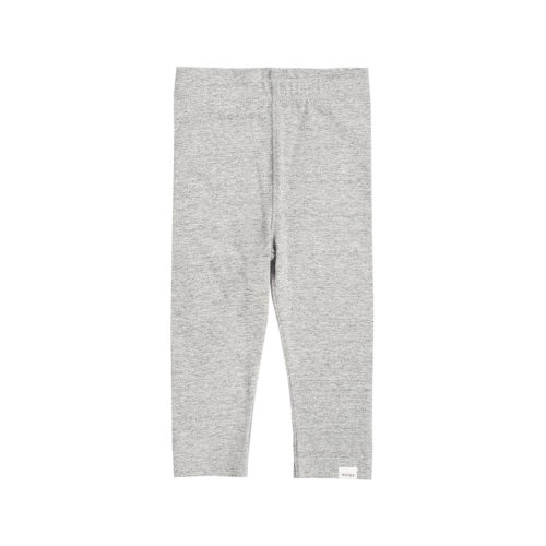 MILES BABY HEATHER GREY LEGGINGS - KIDS CURATED APPAREL