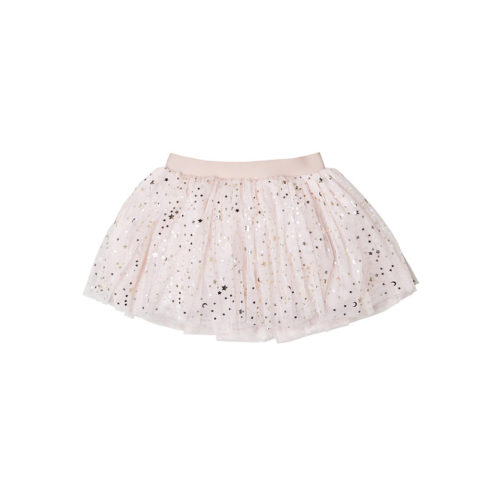 HUXBABY GOLD STAR TULLE SKIRT- KIDS CURATED APPAREL
