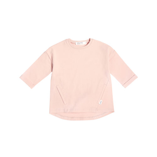 MILES BABY LIGHT PINK TUNIC TOP - KIDS CURATED APPAREL