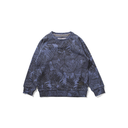 MUNSTER KIDS PLANTLIFE BLUE CREW - KIDS CURATED APPAREL