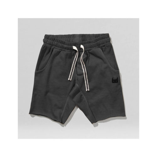 MUNSTER KIDS BLACK ZAP ME SHORTS - KIDS CURATED APPAREL