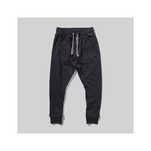 MUNSTER KIDS BLACK ZAP IT JOGGERS - KIDS CURATED APPAREL