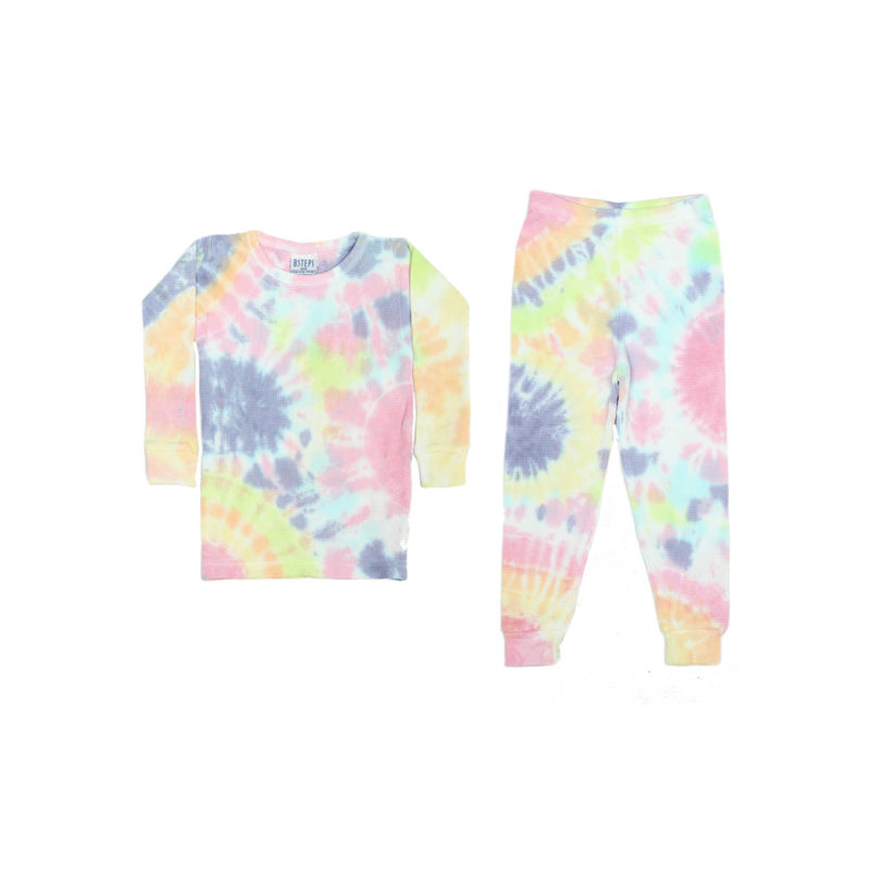 BABY STEPS IZZY TIE DYE PAJAMAS - KIDS CURATED APPAREL