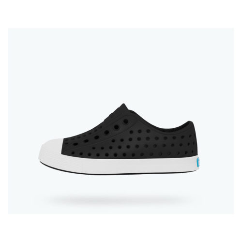 NATIVE JEFFERSONS- JIFFY BLACK/SHELL WHITE - KIDS CURATED APPAREL