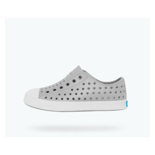 NATIVE JEFFERSON - PIGEON GREY/SHELL WHITE - KIDS CURATED APPAREL
