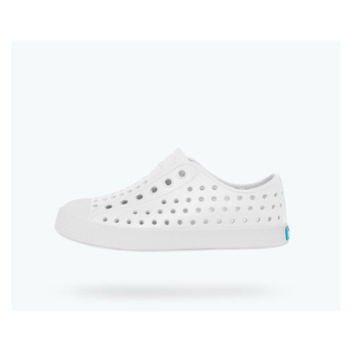 NATIVE JEFFERSON - SHELL WHITE/SHELL WHITE - KIDS CURATED APPAREL