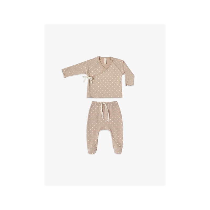 QUINCY MAE PETAL KIMONO SET - KIDS CURATED APPAREL