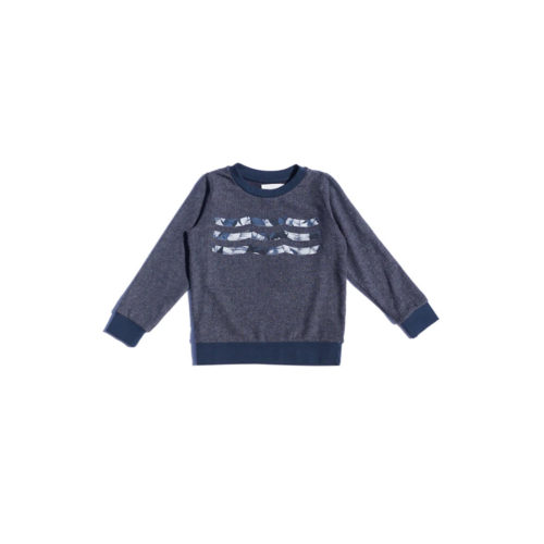 SOL ANGELES BLUE WAVES HACCI PULLOVER - KIDS CURATED APPAREL