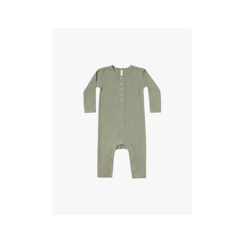 QUINCY MAE MOSS RIBBED BABY JUMPSUIT - KIDS CURATED APPAREL