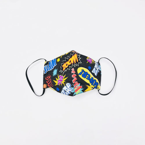 MD MARVEL POW MASK - KIDS CURATED APPAREL
