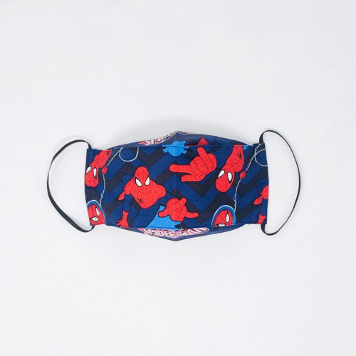 MD SPIDERMAN MASK - KIDS CURATED APPAREL