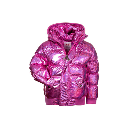 APPAMAN SPARKLE PINK PUFFY COAT - KIDS CURATED APPAREL