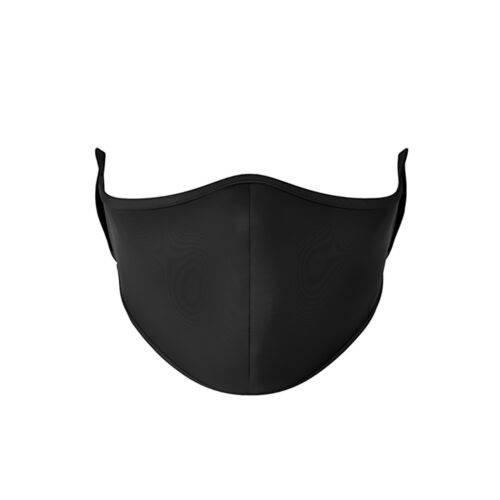 TOP TRENZ SOLID BLACK MASK - KIDS CURATED APPAREL
