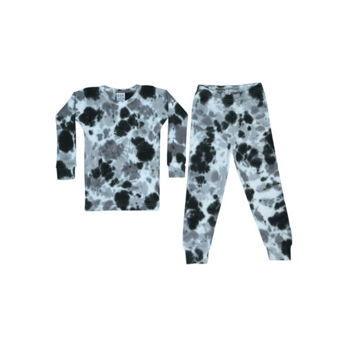 BABY STEPS STORMY TIE DYE PAJAMAS - KIDS CURATED APPAREL