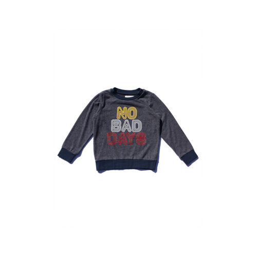 SOL ANGELES NO BAD DAYS HACCI PULLOVER - KIDS CURATED APPAREL