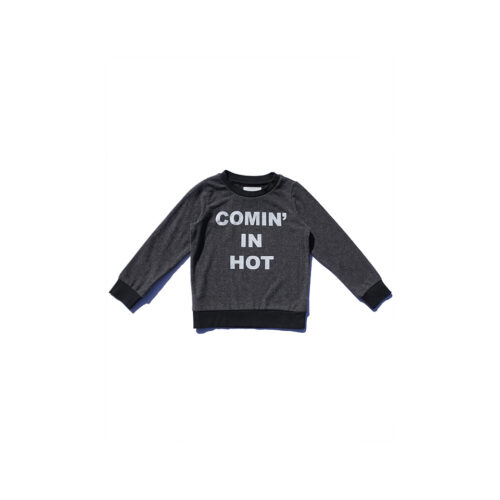 SOL ANGELES COMIN IN HOT HACCI PULLOVER - KIDS CURATED APPAREL