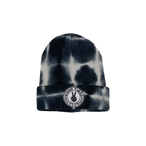 TINY WHALES GOOD VIBRATIONS BEANIE - KIDS CURATED APPAREL