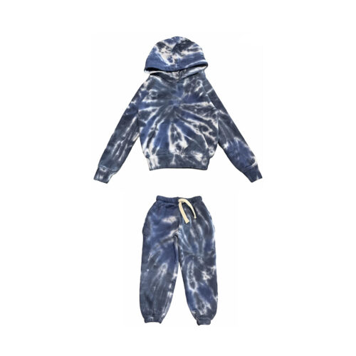 CALIFORNIAN VINTAGE INDIGO TIE DYE SET - KIDS CURATED APPAREL