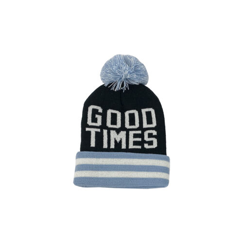 TINY WHALES GOOD TIMES BEANIE - KIDS CURATED APPAREL