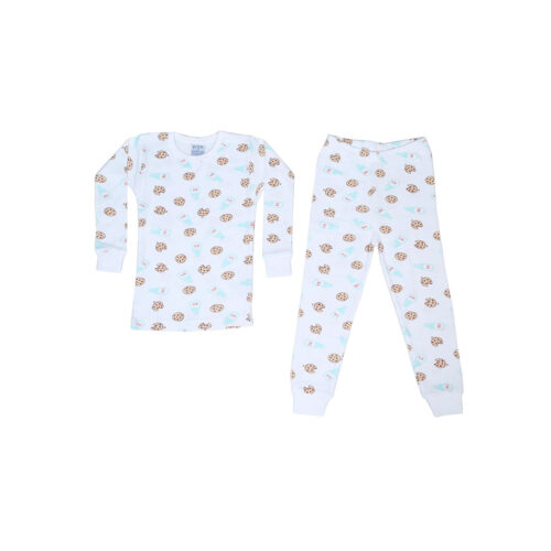 BABY STEPS MILK AND COOKIES PAJAMAS - KIDS CURATED APPAREL