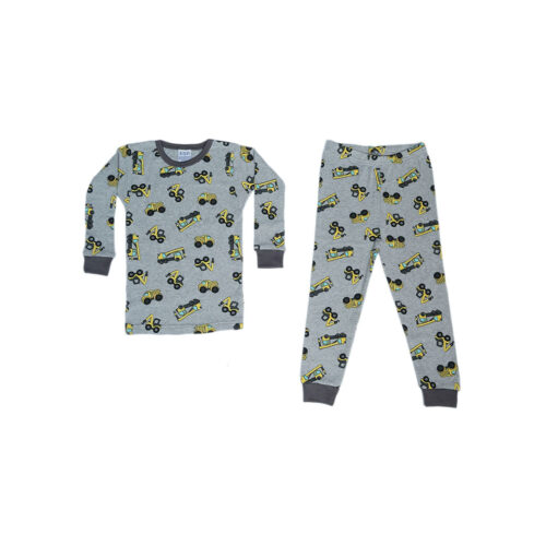 BABY STEPS CONSTRUCTION PAJAMAS - KIDS CURATED APPAREL