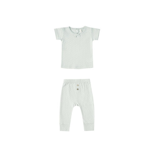 QUINCY MAE SEAGLASS POINTELLE SET - KIDS CURATED APPAREL