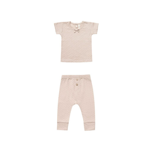 QUINCY MAE PETAL POINTELLE SET -KIDS CURATED APPAREL