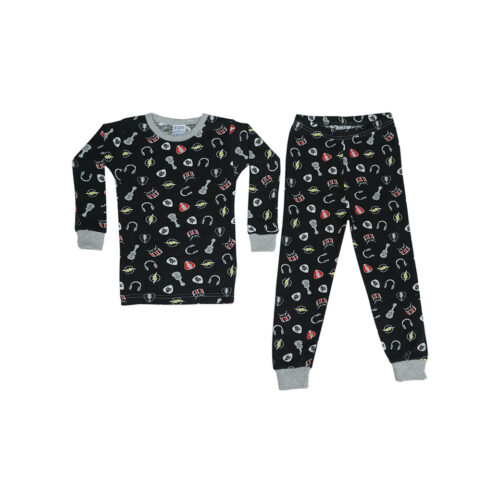 BABY STEPS ROCK N ROLL PAJAMAS - KIDS CURATED APPAREL