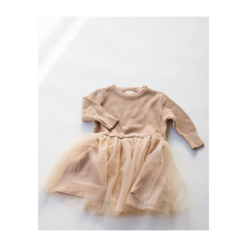 RAISED BY WATER CHUNKY KNIT TUTU - KIDS CURATED APPAREL
