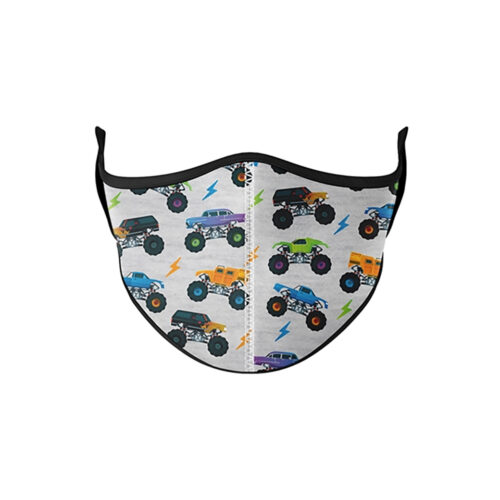 TOP TRENZ MONSTER TRUCK FACE MASK - KIDS CURATED APPAREL