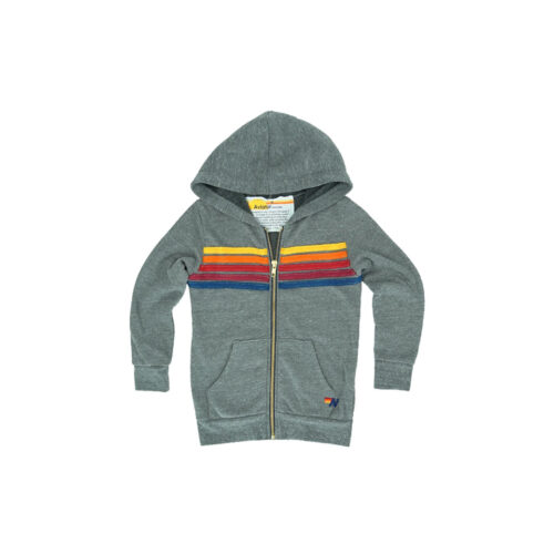 AVIATOR NATION ZIP HOODIE - KIDS CURATED APPAREL