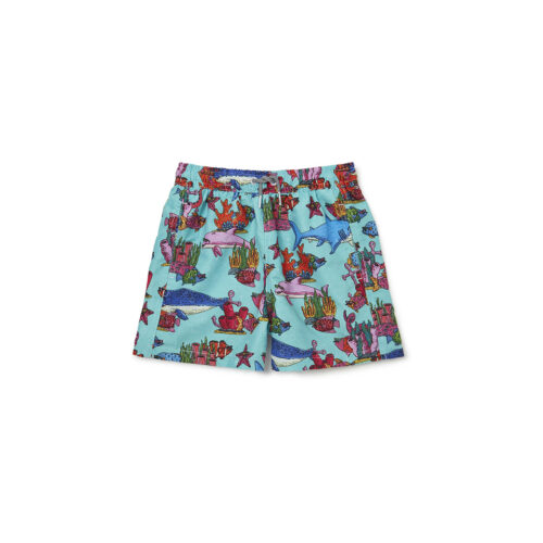 BOARDIES MULGA OCEAN SWIM TRUNKS - KIDS CURATED APPAREL