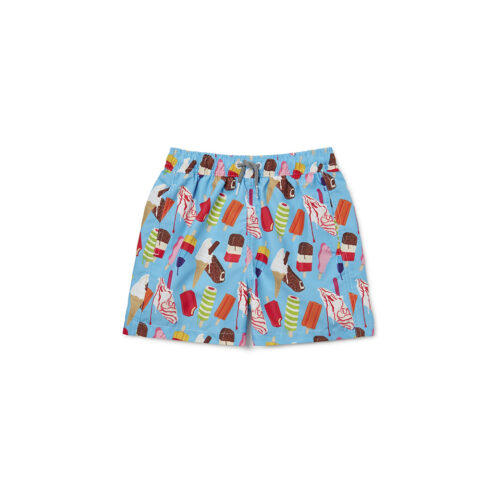BOARDIES ICE CREAM SWIM TRUNKS - KIDS CURATED APPAREL