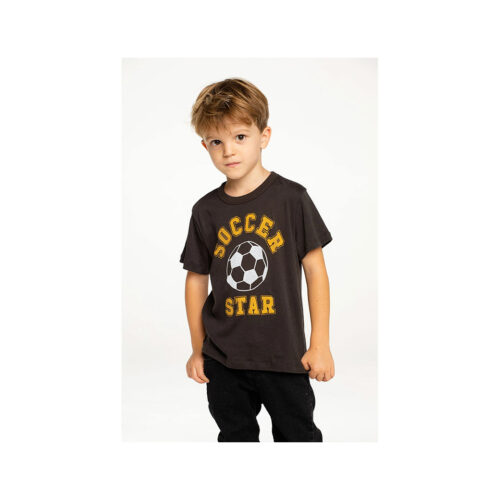 CHASER KIDS SOCCER STAR TEE - KIDS CURATED APPAREL