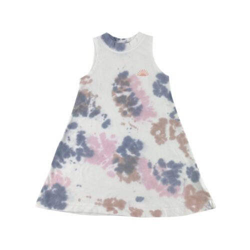 TINY WHALES SEDONA DRESS - KIDS CURATED APPAREL