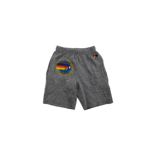 AVIATOR NATION HEATHER GREY SWEATSHORTS - KIDS CURATED APPAREL