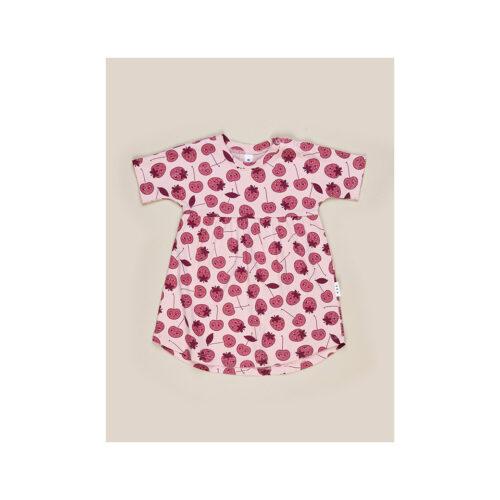 HUXBABY BERRY SWIRL DRESS - KIDS CURATED APPAREL