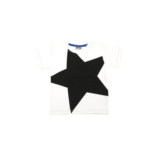 MISH MISH BLACK STAR TEE - KIDS CURATED APPAREL