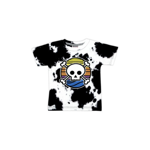 MISH MISH SUNSET SKULL TEE - KIDS CURATED APPAREL