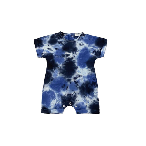 LITTLE MISH HARPER TIE DYE ROMPER - KIDS CURATED APPAREL