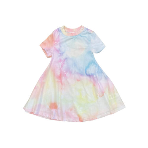 SOL ANGELES WATERCOLOR DRESS - KIDS CURATED APPAREL