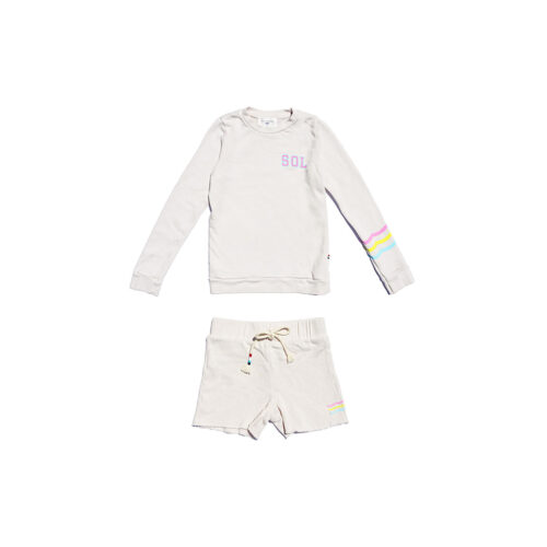 SOL ANGELES NEON WAVES SET - KIDS CURATED APPAREL