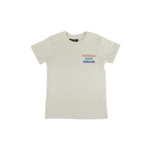 TINY WHALES NATURAL BORN CHILLER TEE - KIDS CURATED APPAREL