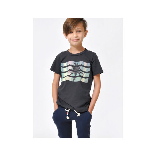 SOL ANGELES SUNSET WAVES CREW - KIDS CURATED APPAREL
